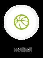 Ideal for netball