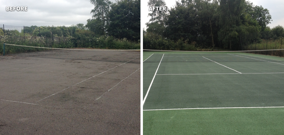 tennis court maintenance 9