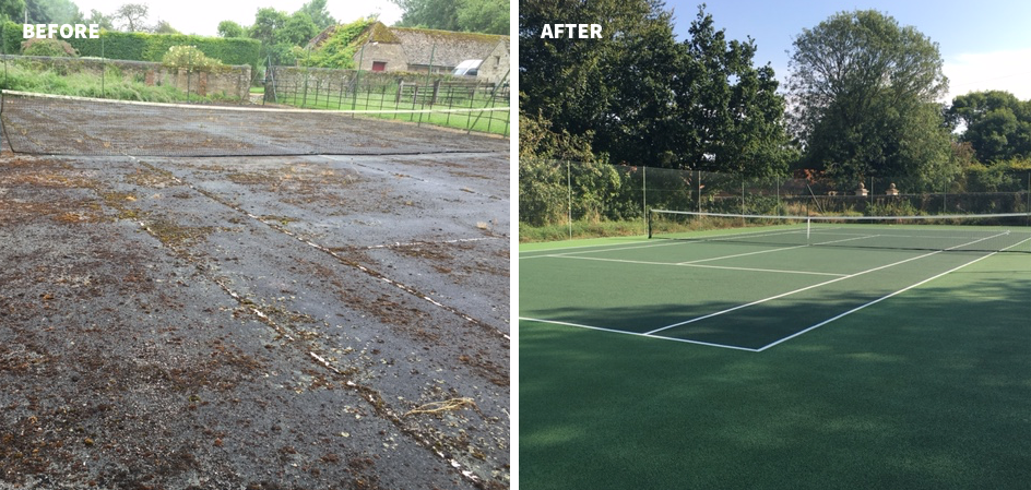 tennis court maintenance 10