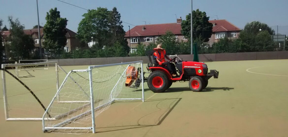 Sand Dressed Pitch Maintenance 4
