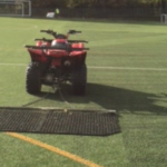 Football & Rugby Rubber Filled 3G Pitch Maintenance 7