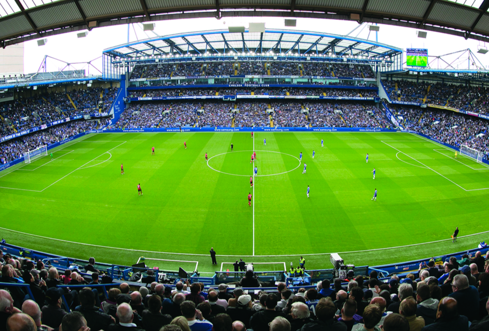 Work Starts at Chelsea Football Club