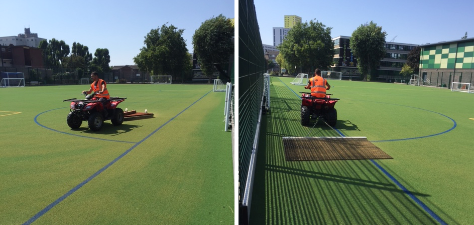 Sand Dressed Pitch Maintenance 7