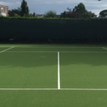 Synthetic Tennis Court Maintenance & Rejuvenation 1