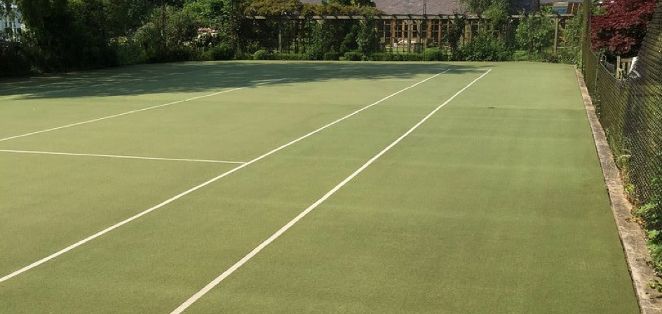 Synthetic Tennis Court Maintenance & Rejuvenation 3