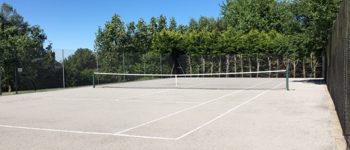 Grey Green Tennis Court Maintenance