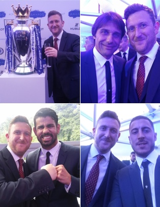 invited to attend the Chelsea Football Club Annual Awards
