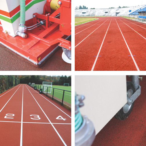 Athletics Track Cleaning